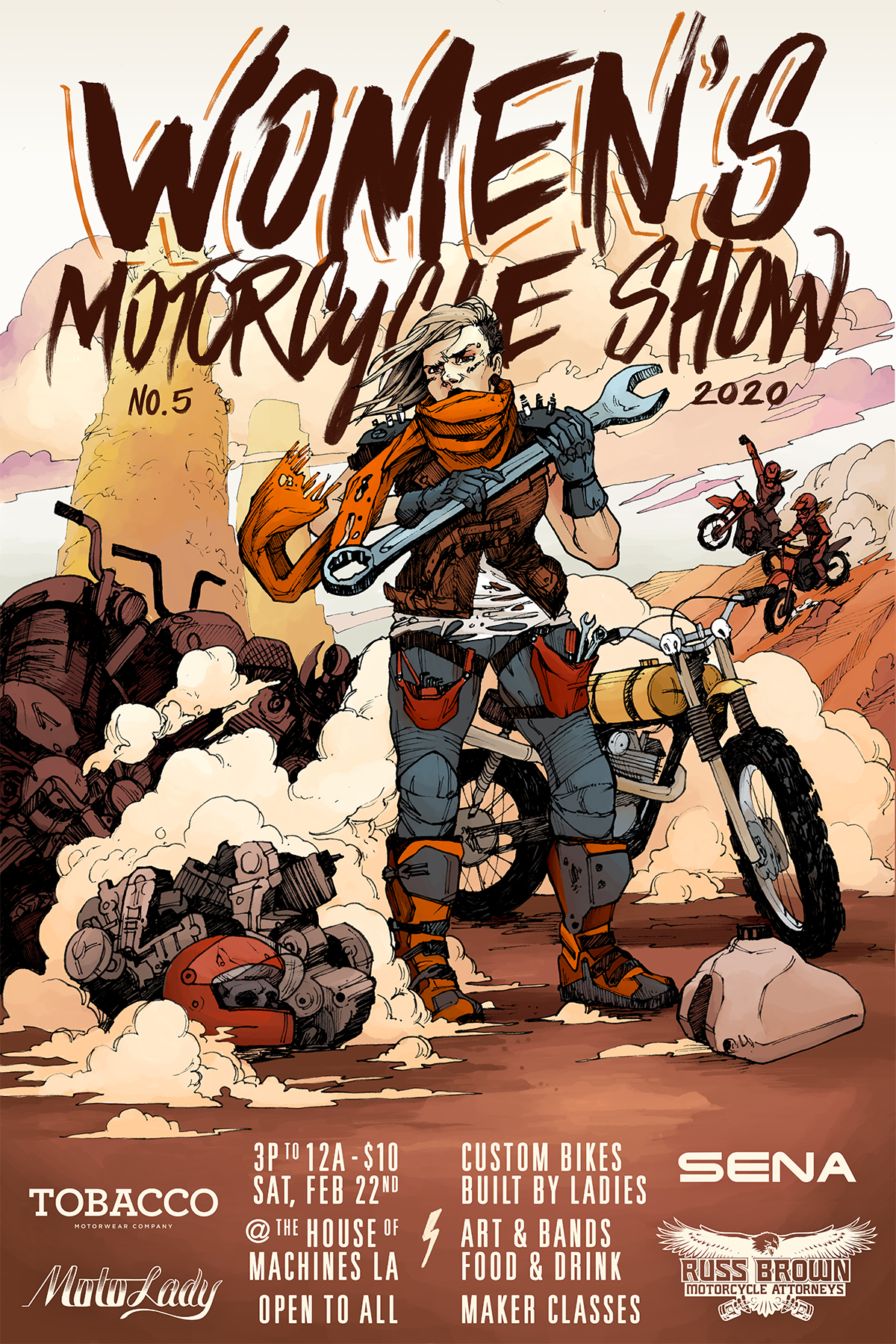 Womens Moto Show 5 Official Poster